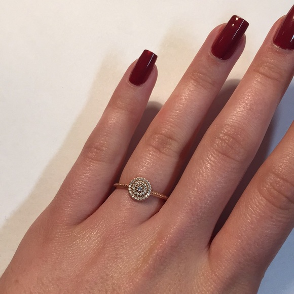9fc092d4f Pandora Jewelry | Radiant Elegance Ring In Rose Gold | Poshmark